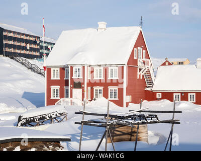 Knud Rasmussen's Museum. Greenland. (Editorial Use Only) - Stock Photo