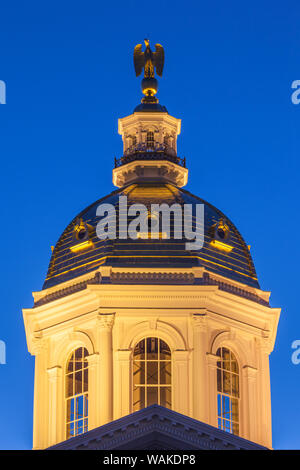 USA, Concord. New Hampshire State House - Stock Photo