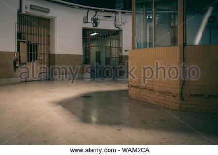 Modelo prison, Barcelona, Spain - Stock Photo