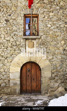 Casa de la Vall in Andorra la Vella. Andorra - Stock Photo