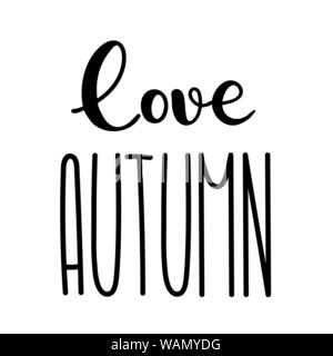 Autumn tall fun font lettering  Elongated cute letters