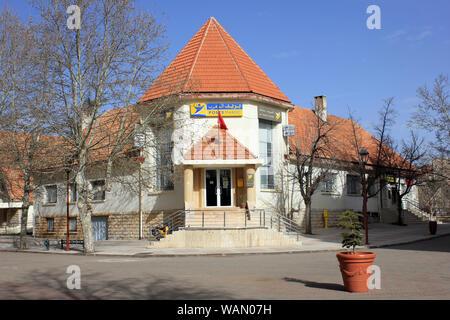 Poste Maroc Building, Ifrane, Morocco - Stock Photo