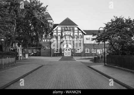 Railway Station Wangerooge - Stock Photo