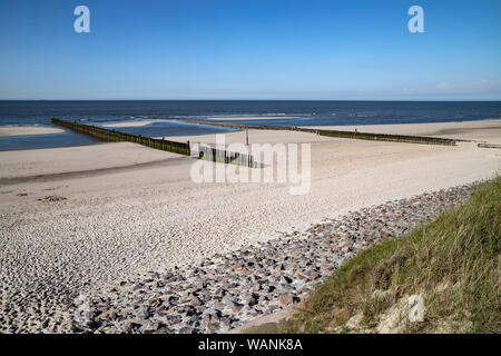 Beach Wangerooge - Stock Photo