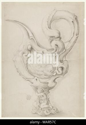 Drawing, Design for a Ewer, 1620–1627 - Stock Photo