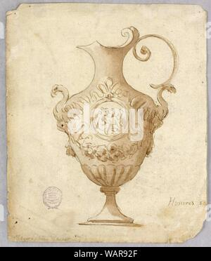 Drawing, Design for an Ewer, 17th–19th century - Stock Photo
