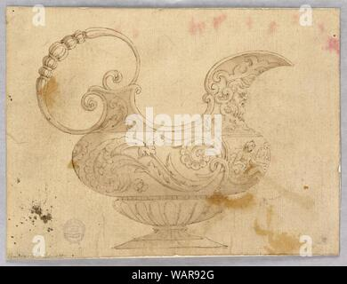 Drawing, Design for an Ewer, 16th–19th century - Stock Photo