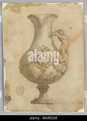 Drawing, Design for an Ewer, 18th–19th century - Stock Photo
