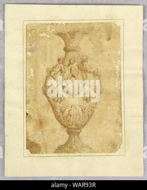 Drawing, Design for an Ewer, 19th century - Stock Photo