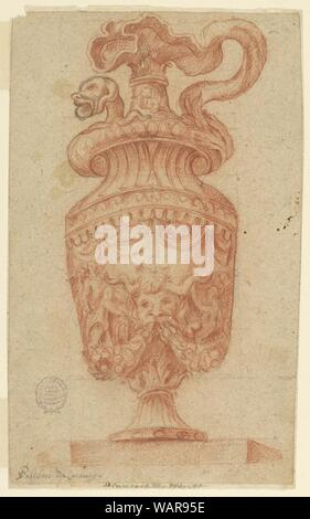 Drawing, Design for an Ewer, 1600–1900 - Stock Photo