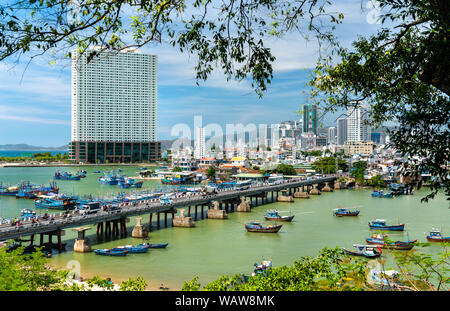 View of Nha Trang city in Vietnam - Stock Photo