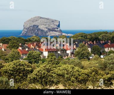 The Bass Rock from North Berwick, East Lothian, Scotland, UK. - Stock Photo