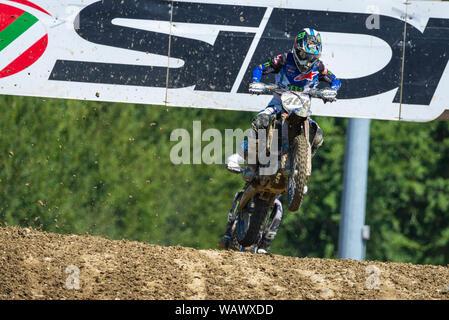 Imola, Italy, 18 Aug 2019, 461- Febvre Romain - Yamaha  during the MXGP of Italy Motori Motocross - Credit: LPS/Andrea Pagin/Alamy Live News - Stock Photo