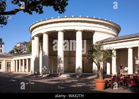the Elisenbrunnen, pump room, Aachen, North Rhine-Westphalia, Germany.  der Elisenbrunnen, Aachen, Nordrhein-Westfalen, Deutschland. - Stock Photo