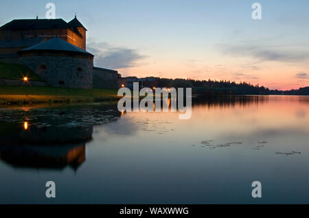 Vanajavesi lake in Hameenlinna. Finland - Stock Photo