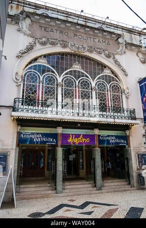 teatro politeama - Stock Photo