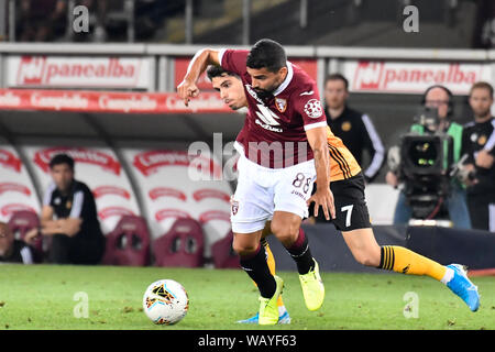 Tomas Rincon (Torino FC) during the Europa League 2019-20 football match between Torino FC and Wolverhampton Wanderers FC at Stadio Grande Torino on 22th August, 2019 in Turin, Italy. - Stock Photo