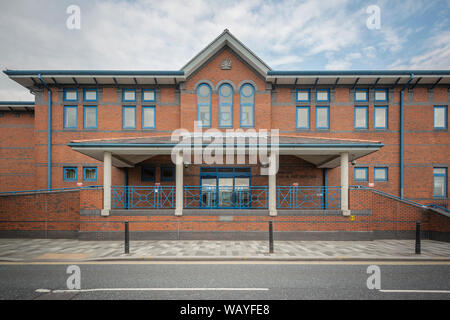The Combined Court Centre located on Bethesda Street in Stoke-on-Trent. - Stock Photo