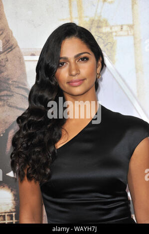 LOS ANGELES, CA. March 10, 2011: Camila Alves at the Los Angeles premiere of 'The Lincoln Lawyer' at the Cinerama Dome, Hollywood. © 2011 Paul Smith / Featureflash - Stock Photo