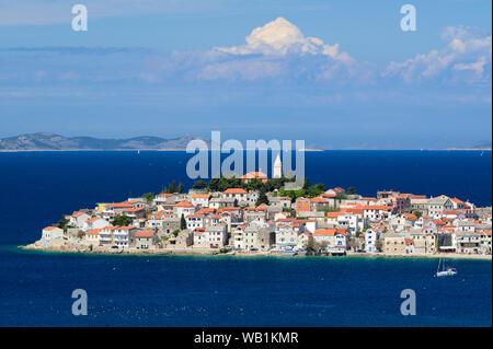Europe, European, Croatia,Adriatic Sea, Primosten, 30078114 - Stock Photo