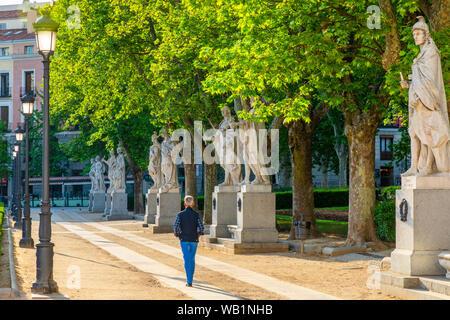 Plaza de Oriente, Madrid, Spain, South West Europe - Stock Photo