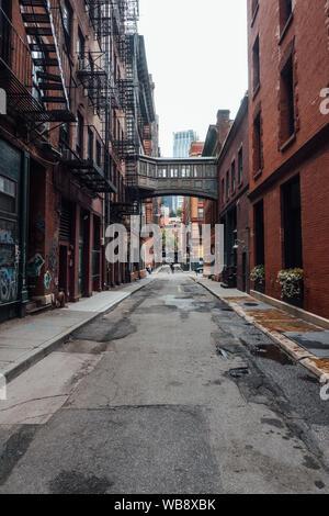 Staple street in New york city - Stock Photo