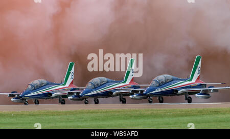 Italian Frecce Tricolori Display team - Stock Photo