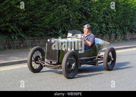 Pre-war 1934 Austin Seven at the Ormskirk Motorfest in Lancashire, UK - Stock Photo