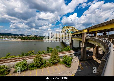 Bridges of Pittsburgh - Stock Photo