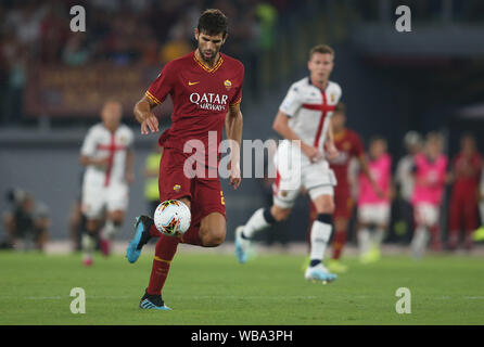 Rome, Italy. 26th Aug, 2019. Rome, Italy - August 25, 2019: Federico Fazio (AS ROMA) in action during the Serie A soccer match between AS ROMA and GENOA FC, at Olympic Stadium in Rome. Credit: Independent Photo Agency/Alamy Live News - Stock Photo