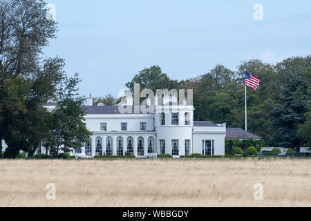 American Ambassador's Residence in the Phoenix Park, Dublin, Ireland - Stock Photo