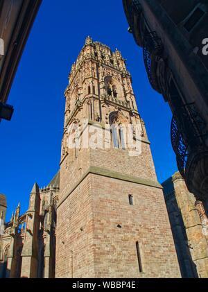 Cathedrale Notre Dame d Assomption de Rodez, Rodez, Aveyron Department, Occitanie, France.