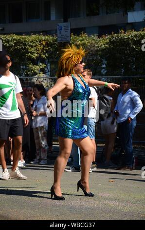 London, UK. 26th Aug, 2019.  Notting Hill Carnival 2019 Credit: JOHNNY ARMSTEAD/Alamy Live News - Stock Photo