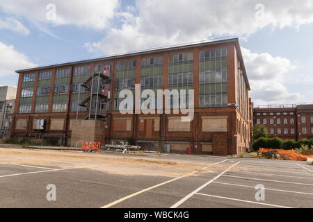 The Horlick's Factory, Slough, Berkshire, now decommissioned. This building has now been demolished, in preparation for redevelopment of the site.
