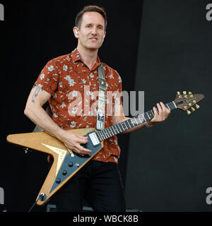 Ash live at Victorious Festival 2019 - Southsea - Stock Photo