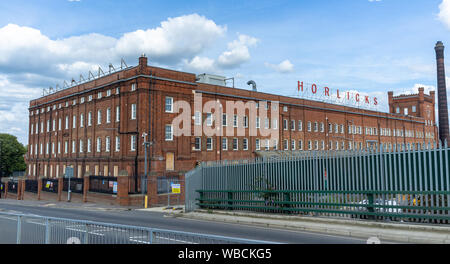 The Horlick's Factory, Slough, Berkshire, now decommissioned. The buildings and land bought by Berkley Homes in August 2018 and on track for renovation