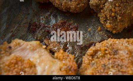 kfc, popeyes, recipes, deep frying, deep frying, crispy fried, crispy chicken burger, chicken nuggets, deep fryer - Stock Photo
