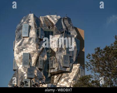 LUMA Arles, culture center by architect Frank Gehry Arles, Provence, france
