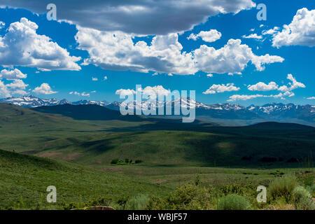 California Sierra Nevada Mountain Range