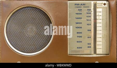 Close-up Of Radio - Stock Photo