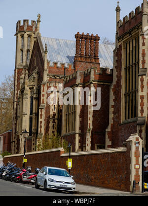 The Great Hall, also known as the New Hall, is a Grade II listed building in Lincoln's Inn, London WC2. - Stock Photo