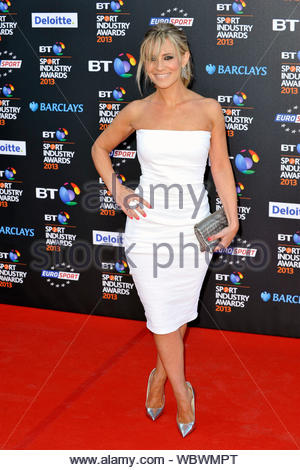 London, UK - Georgie Thompson attends the BT Sport Industry Awards held at Battersea Evolution in London. AKM-GSI, May 2, 2013 - Stock Photo