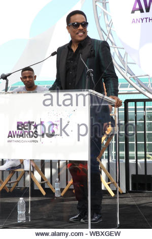 Los Angeles, CA - Charlie Wilson attends the 2013 BET Awards press conference held at Icon Ultra Lounge in Los Angeles. AKM-GSI, May 14, 2013 - Stock Photo