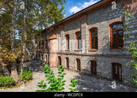 Imam Ali old mosque in Shaki city, Azerbaijan - Stock Photo