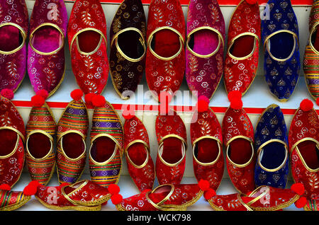 Indian, Turkish traditional slippers - Stock Photo