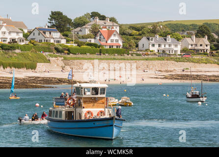 Pretty small town of St Mawes, Cornwall. - Stock Photo