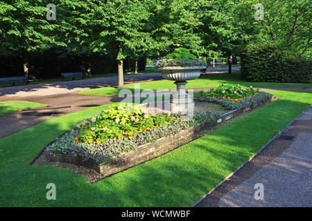 Regent's park in London city, England - Stock Photo