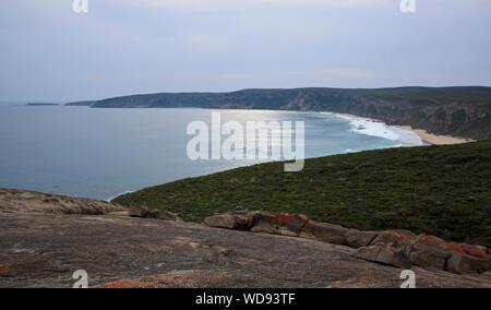 Ocean view from remarkable rocks Kangaroo Island - Stock Photo