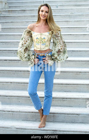 Candice Swanepoel at a photocall at the Biennale di Venezia 2019 / 76th Venice International Film Festival at the Lido. Venice, 27.08.2019 | usage worldwide - Stock Photo