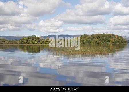 Lough Gill in County Sligo, Ireland. - Stock Photo